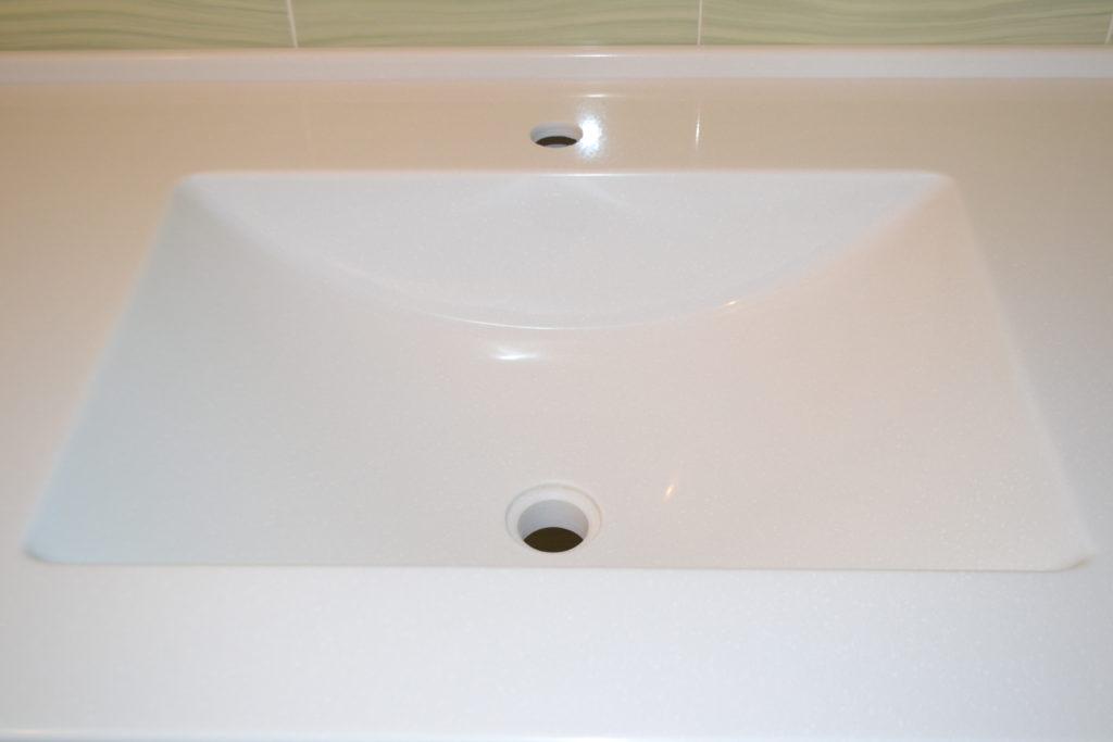 Раковина для ванной комнаты из искусственного камня